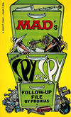 Cover for Mad's Spy vs. Spy (New American Library, 1966 ? series) #P3480