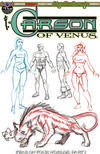 Cover Thumbnail for Edgar Rice Burroughs' Carson of Venus: Fear on Four Worlds (2018 series) #1 [Limited Edition Cover]