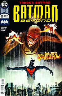 Cover Thumbnail for Batman Beyond (DC, 2016 series) #22