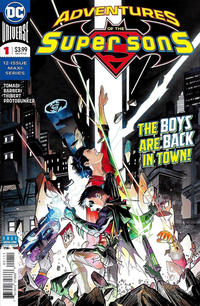 Cover Thumbnail for Adventures of the Super Sons (DC, 2018 series) #1