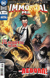 Cover Thumbnail for The Immortal Men (DC, 2018 series) #5