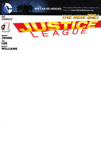 Cover Thumbnail For Justice League DC 2011 Series 1 We Can