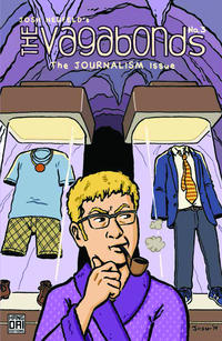 Cover Thumbnail for The Vagabonds (Hang Dai Editions, 2014 series) #3 - The Journalism Issue