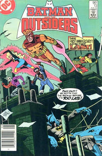 Cover Thumbnail for Batman and the Outsiders (DC, 1983 series) #13 [Canadian]