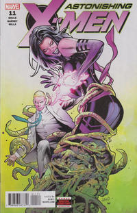 Cover Thumbnail for Astonishing X-Men (Marvel, 2017 series) #11 [Greg Land]