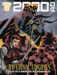 Cover Thumbnail for 2000 AD (Rebellion, 2001 series) #2093