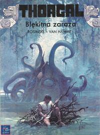 Cover Thumbnail for Thorgal (Egmont Polska, 1994 series) #25 - Błękitna zaraza