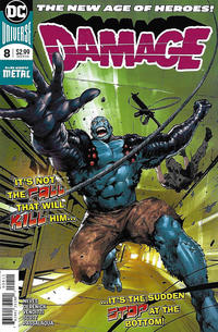Cover for Damage (DC, 2018 series) #8