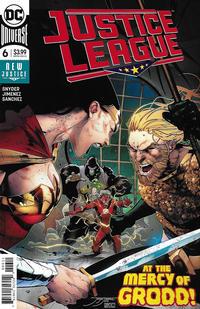 Cover Thumbnail for Justice League (DC, 2018 series) #6 [Jorge Jimenez Cover]