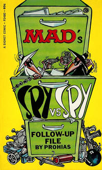 Cover Thumbnail for Mad's Spy vs. Spy (New American Library, 1966 ? series) #P3480