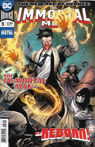 Cover for The Immortal Men (DC, 2018 series) #5