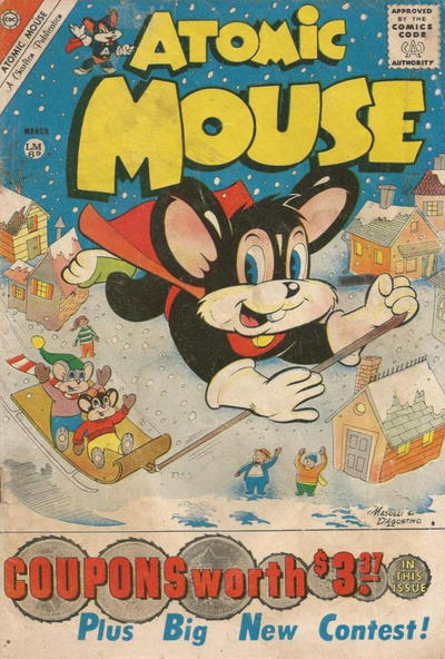 Cover for Atomic Mouse (Charlton, 1953 series) #41 [British]