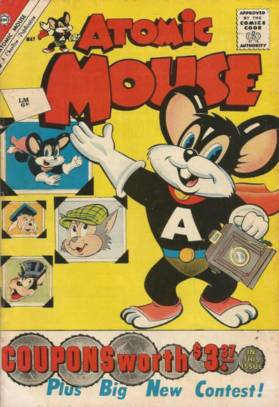 Cover for Atomic Mouse (Charlton, 1953 series) #42 [British]