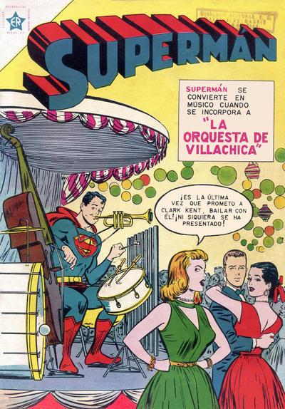 Cover for Supermán (Editorial Novaro, 1952 series) #50