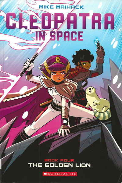 Cover for Cleopatra in Space (Scholastic, 2015 ? series) #4 - The Golden Lion