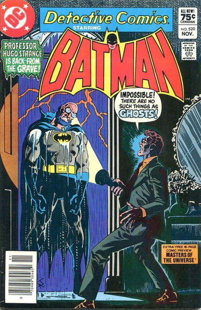 Cover for Detective Comics (DC, 1937 series) #520 [Direct]