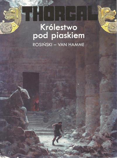 Cover for Thorgal (Egmont Polska, 1994 series) #26 - Królestwo pod piaskiem