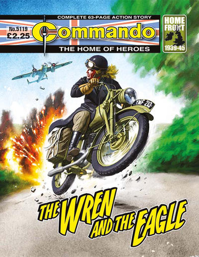 Cover for Commando (D.C. Thomson, 1961 series) #5119