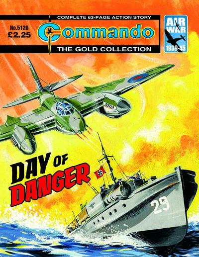 Cover for Commando (D.C. Thomson, 1961 series) #5120