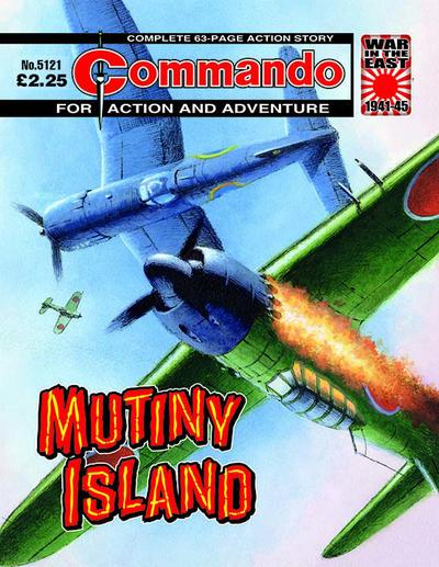 Cover for Commando (D.C. Thomson, 1961 series) #5121
