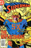 Cover for Superman (DC, 1939 series) #418 [Canadian]