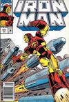 Cover for Iron Man (Marvel, 1968 series) #277 [Australian Newsstand]