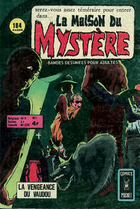Cover Thumbnail for La Maison du Mystère (Arédit-Artima, 1975 series) #1