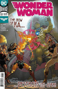 Cover Thumbnail for Wonder Woman (DC, 2016 series) #53 [David Yardin Cover]