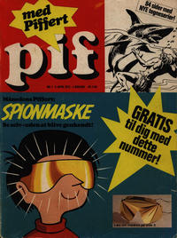 Cover Thumbnail for Pif (Egmont, 1973 series) #1/1973