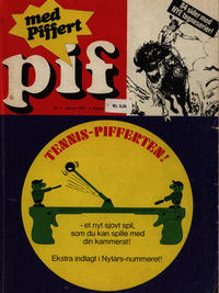 Cover for Pif (Egmont, 1973 series) #1/1974