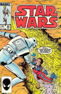 Cover Thumbnail for Star Wars (Marvel, 1977 series) #86 [Direct]