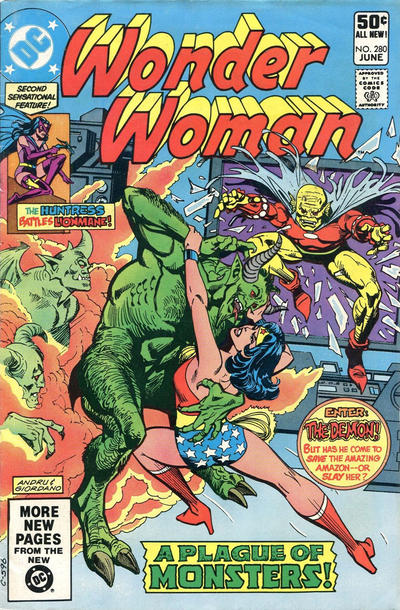 Cover for Wonder Woman (DC, 1942 series) #280 [Direct]