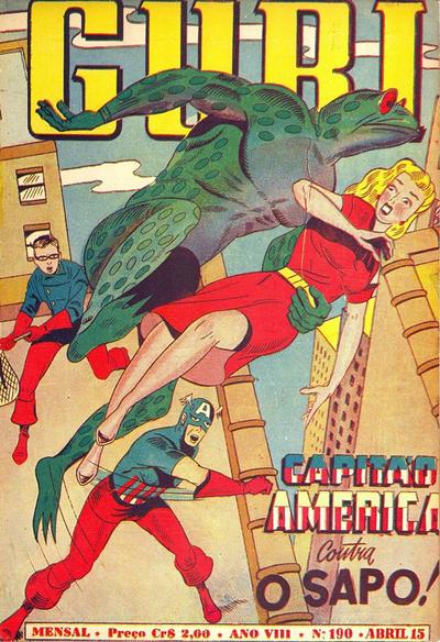 Cover for O Guri Comico (O Cruzeiro, 1940 series) #190