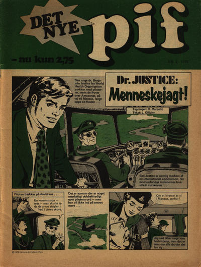 Cover for Pif (Egmont, 1973 series) #2/1975