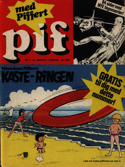 Cover for Pif (Egmont, 1973 series) #4/1973