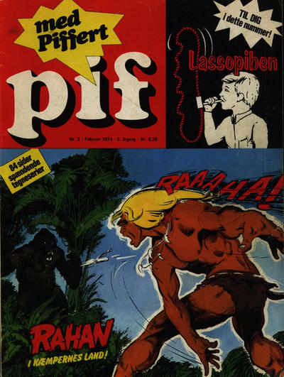 Cover for Pif (Egmont, 1973 series) #2/1974
