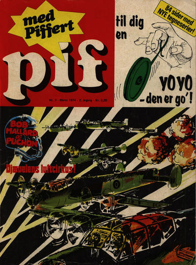 Cover for Pif (Egmont, 1973 series) #3/1974