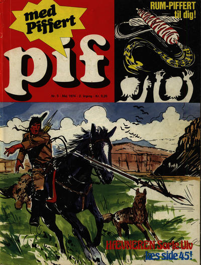 Cover for Pif (Egmont, 1973 series) #5/1974