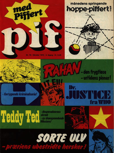 Cover for Pif (Egmont, 1973 series) #10/1974