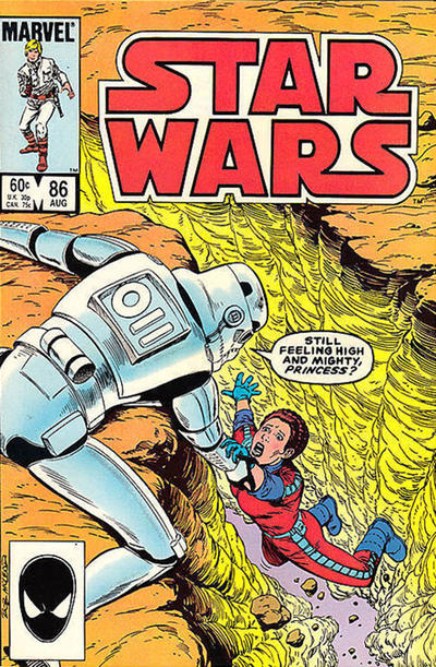 Cover for Star Wars (Marvel, 1977 series) #86 [Newsstand]