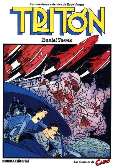 Cover for Los álbumes de Cairo (NORMA Editorial, 1983 series) #4 - Tritón