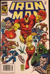 Cover Thumbnail for Iron Man (1968 series) #319 [Newsstand]