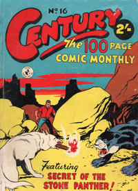 Cover Thumbnail for Century, The 100 Page Comic Monthly (K. G. Murray, 1956 series) #16