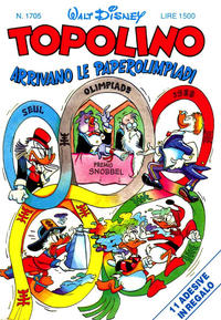 Cover Thumbnail for Topolino (Disney Italia, 1988 series) #1705
