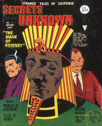 Cover Thumbnail for Secrets of the Unknown (Alan Class, 1962 series) #121