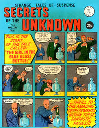 Cover Thumbnail for Secrets of the Unknown (Alan Class, 1962 series) #216