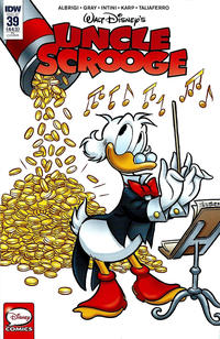 Cover Thumbnail for Uncle Scrooge (IDW, 2015 series) #39 / 443 [Retailer Incentive Cover - Andrea Freccero]