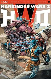 Cover Thumbnail for Harbinger Wars 2 (Valiant Entertainment, 2018 series) #4 [Cover A - J. G. Jones]