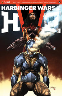 Cover Thumbnail for Harbinger Wars 2 (Valiant Entertainment, 2018 series) #4 [Cover B - Mico Suayan]