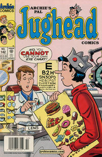 Cover Thumbnail for Archie's Pal Jughead Comics (Archie, 1993 series) #142 [Newsstand]